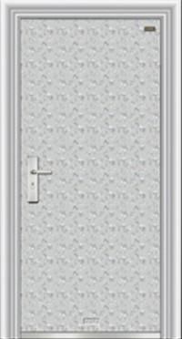 平板不锈钢门